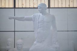 """Statua finita per lo spettacolo """"ORESTEA / AGAMENNONE SCHIAVI CONVERSIO"""""""